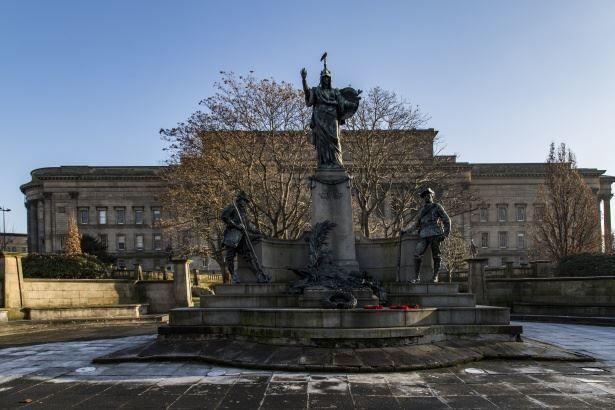 Скачать онлайн бесплатно лучшее фото достопримечательности города Ливерпуль в хорошем качестве