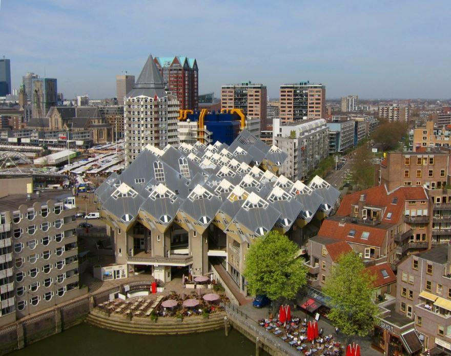 Смотреть красивое фото города Роттердам 2019