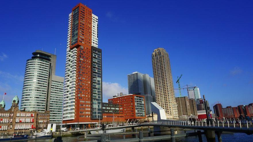Скачать онлайн бесплатно лучшее фото города Роттердам в хорошем качестве