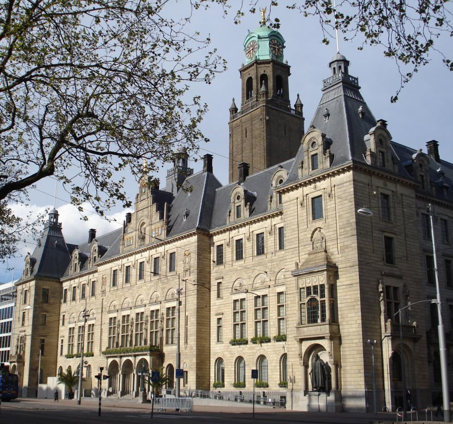 Смотреть красивое фото улица города Роттердам