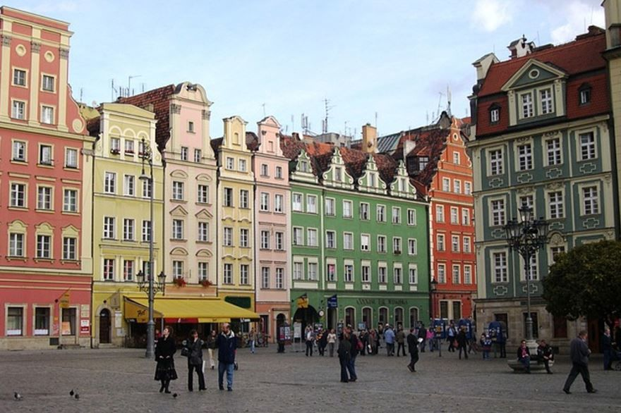 Смотреть красивое фото города Вроцлав в хорошем качестве