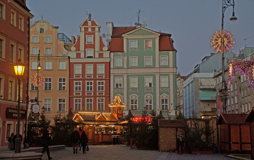 Скачать онлайн бесплатно красивое фото города Вроцлав в хорошем качестве