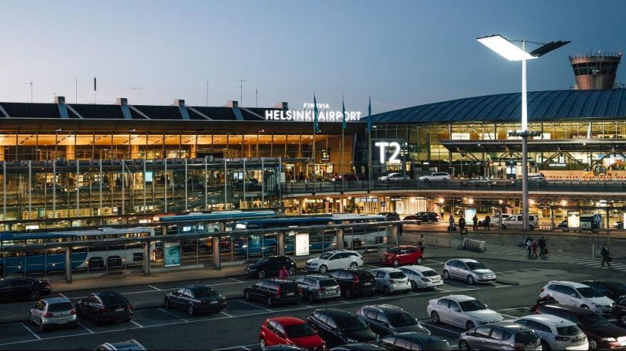 Аэропорт город Хельсинки 2019