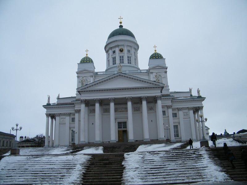 Кафедральный собор город Хельсинки