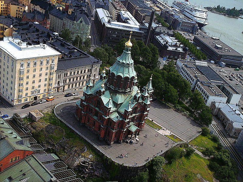 Успенский собор город Хельсинки