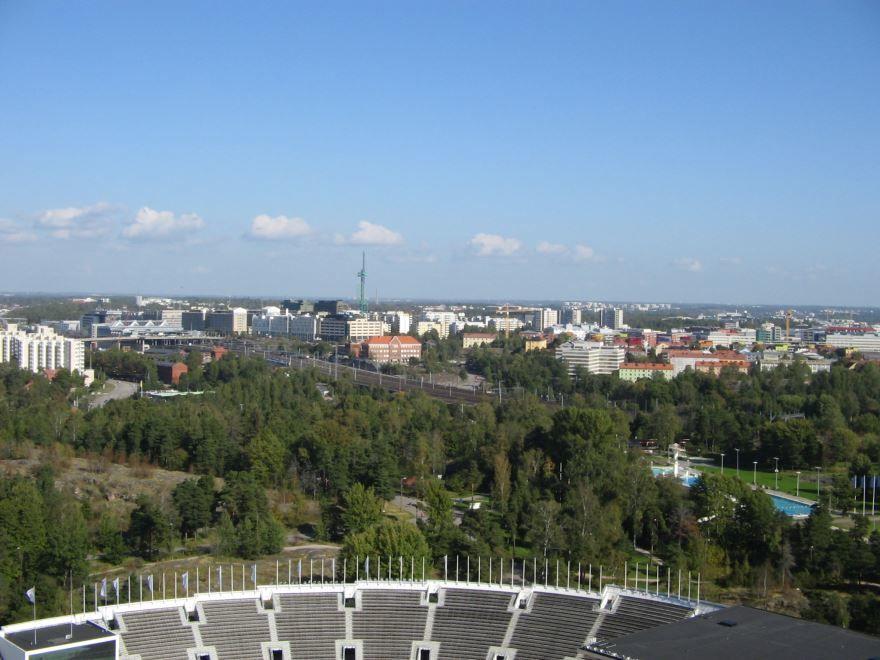Скачать онлайн бесплатно лучшее фото вид на город Хельсинки в хорошем качестве