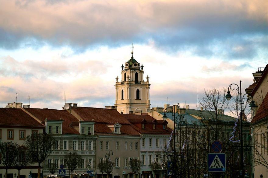 Смотреть красивое фото города Вильнюс бесплатно