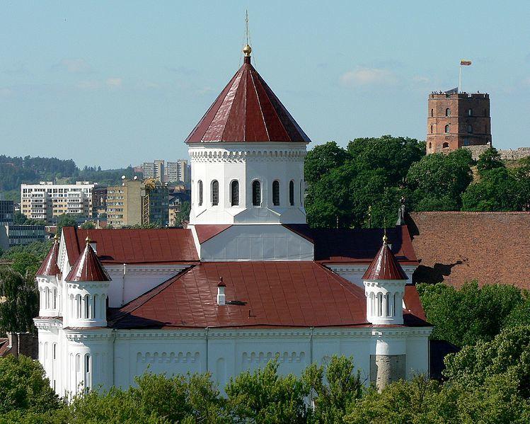 Православная церковь Пресвятой Богородицы город Вильнюс