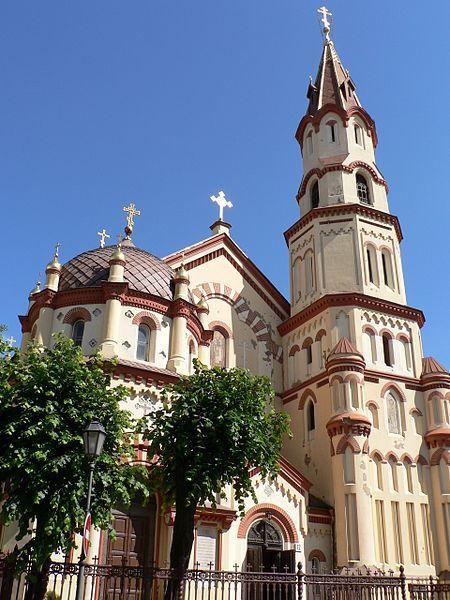 Свято-Николаевская Православная церковь город Вильнюс