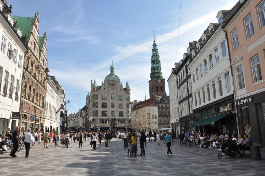 Смотреть красивое фото города Копенгаген 2018 Дания