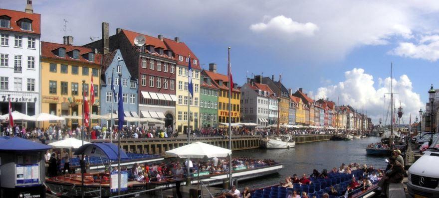 Смотреть красивое фото города Копенгаген 2019 Дания