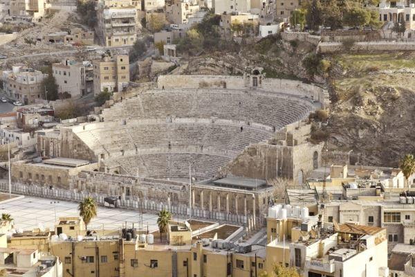 Римский театр город Амман