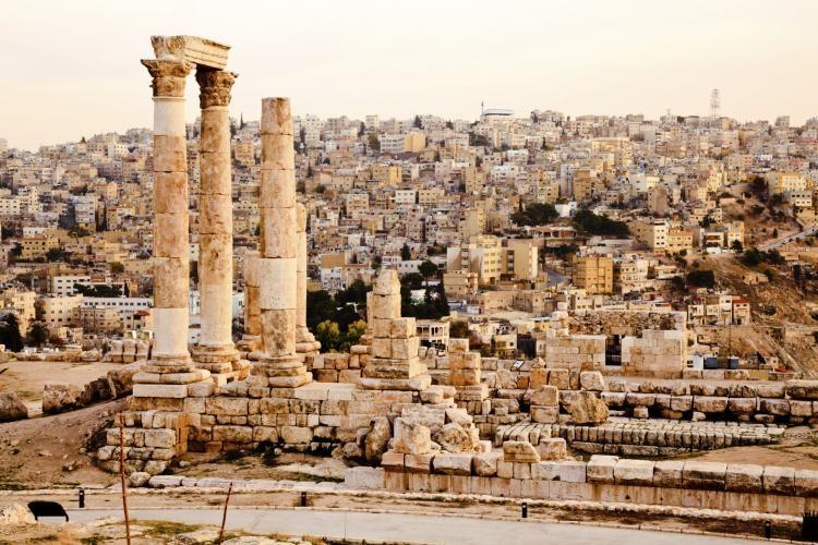 Смотреть красивое фото города Амман бесплатно