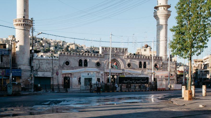 Скачать онлайн бесплатно красивое фото города Амман Иордания в хорошем качестве