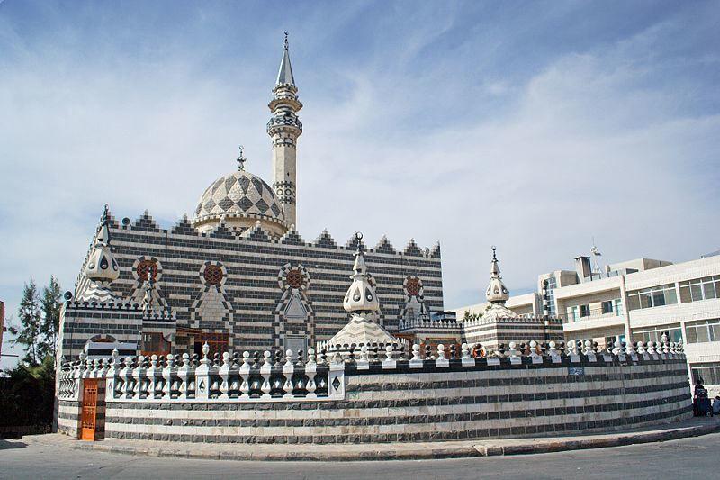 Мечеть Абу Дарвиша город Амман Иордания