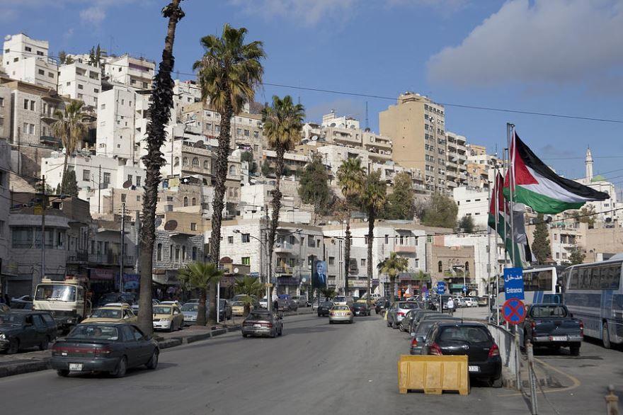 Скачать онлайн бесплатно лучшее фото города Амман Иордания в хорошем качестве