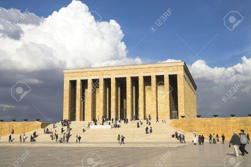 Красивая архитектура города Анкара