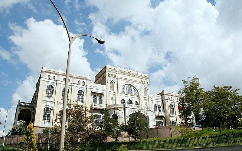 Государственный музей живописи и скульптуры город Анкара