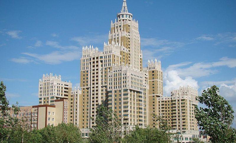 Красивая архитектура город Астана Казахстан