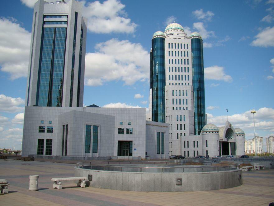 Парламент город Астана