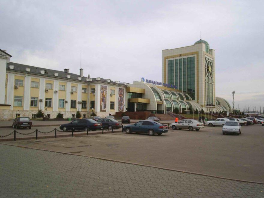 Железнодорожный вокзал город Астана 2019