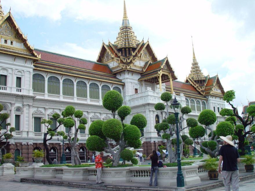 Большой дворец город Бангкок
