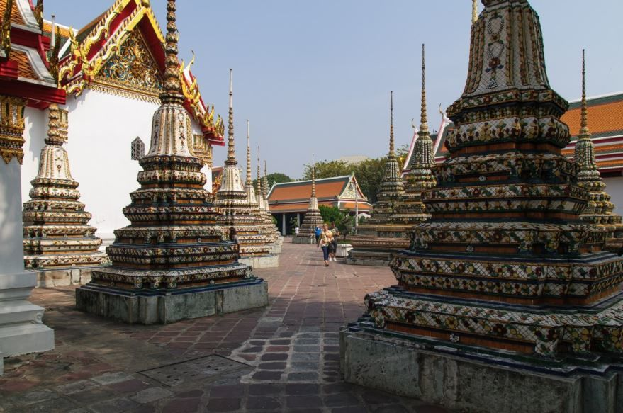 Красивая архитектура города Бангкок