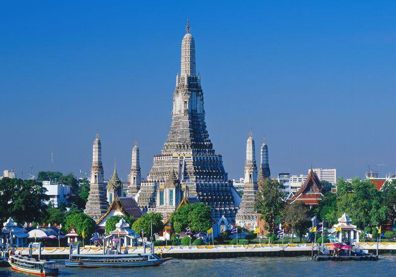 Храм Рассвета город Бангкок
