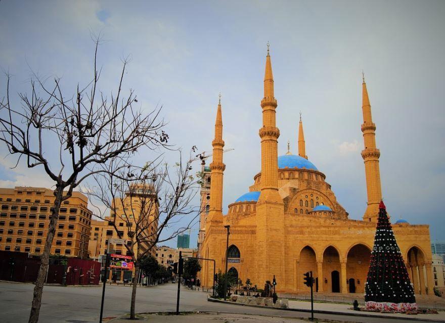 Мохаммад Амин мечеть горот Бейрут