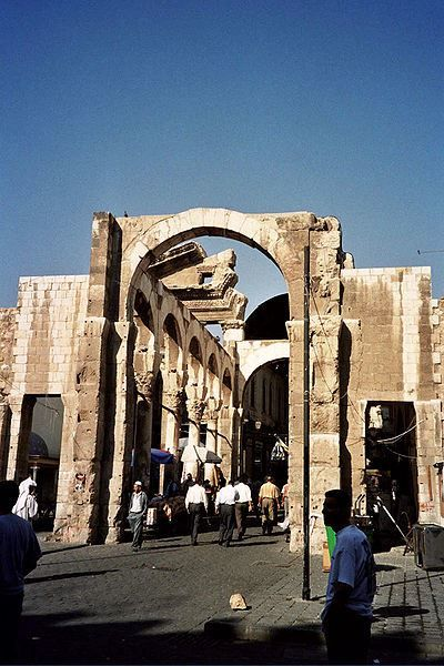 Храм Юпитера город Дамаск