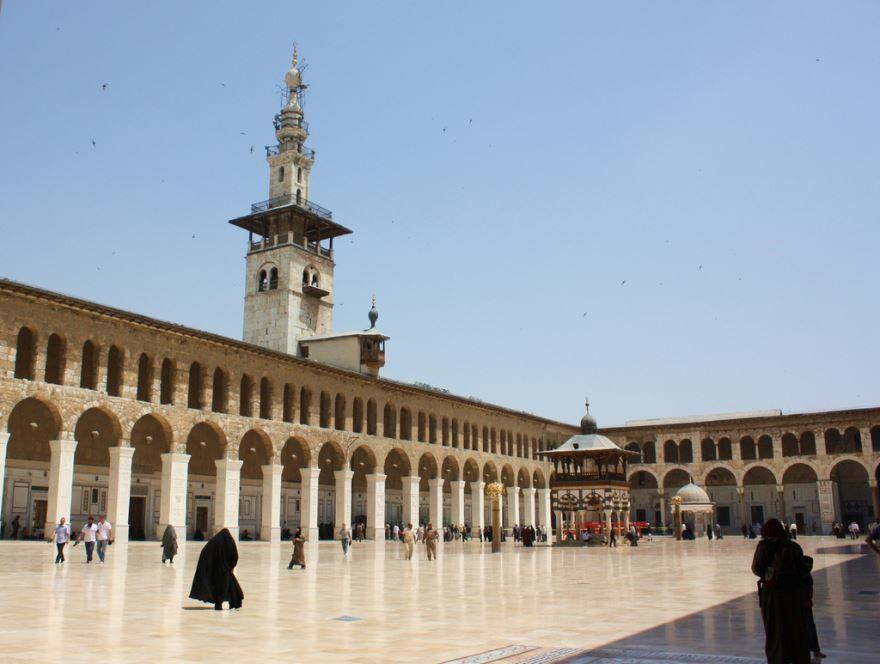 Смотреть красивое фото город Дамаск Сирия