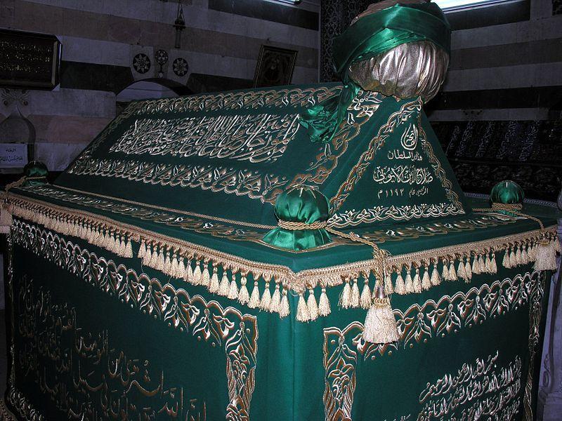 Могила Саладина в Дамаске