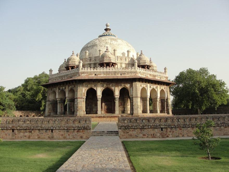 Гробница Хумаюна город Дели Индия