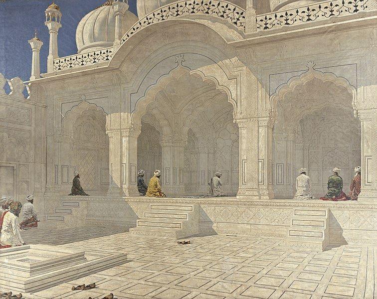 Смотреть красивое фото с красивой архитектурой города Дели
