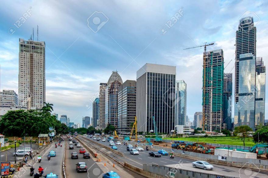 Смотреть красивое фото города Джакарта в хорошем качестве