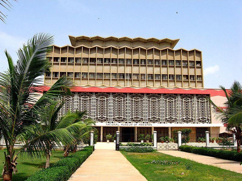 Национальный музей Пакистана в Карачи