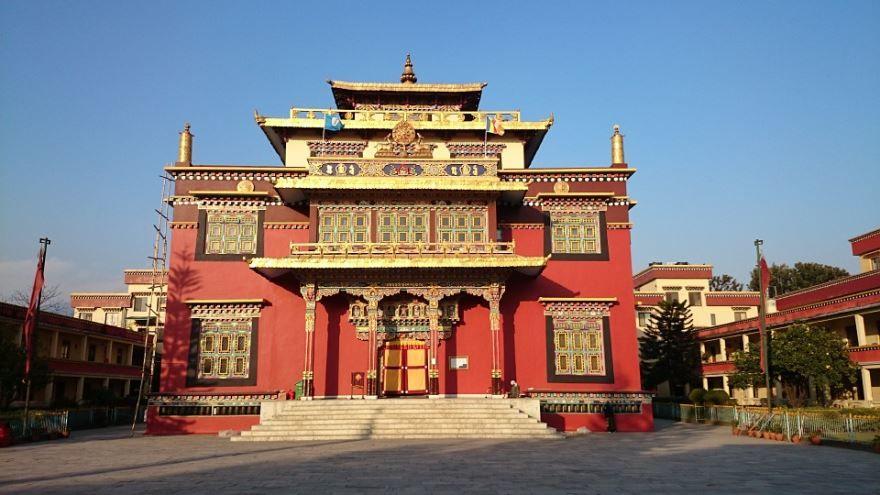 Монастырь город Катманду