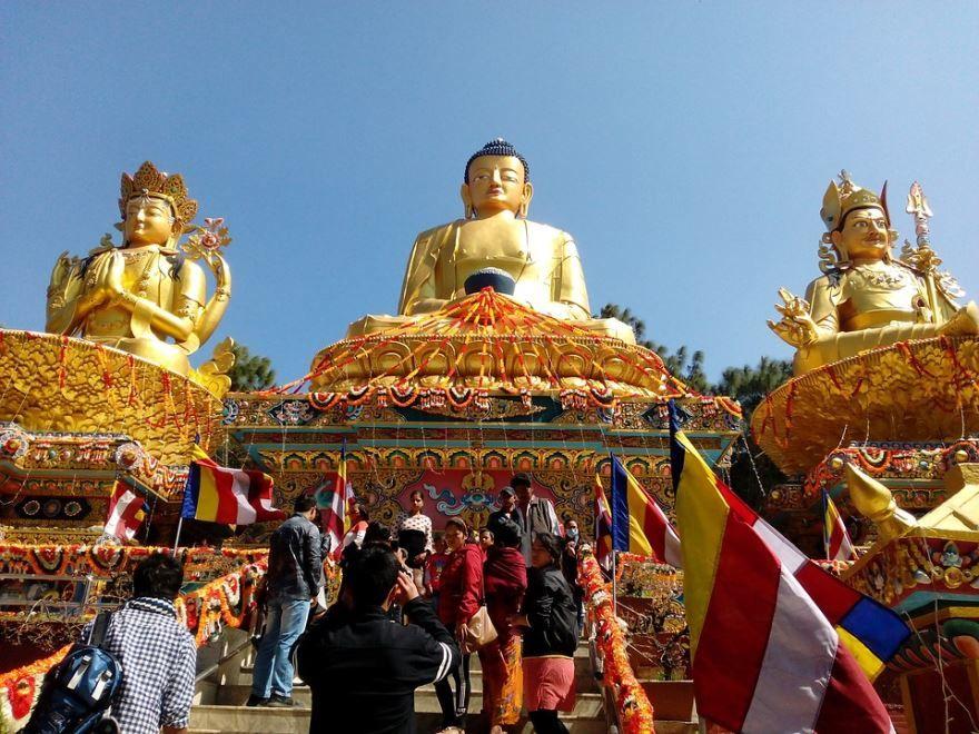 Смотреть красивое фото достопримечательности города Катманду