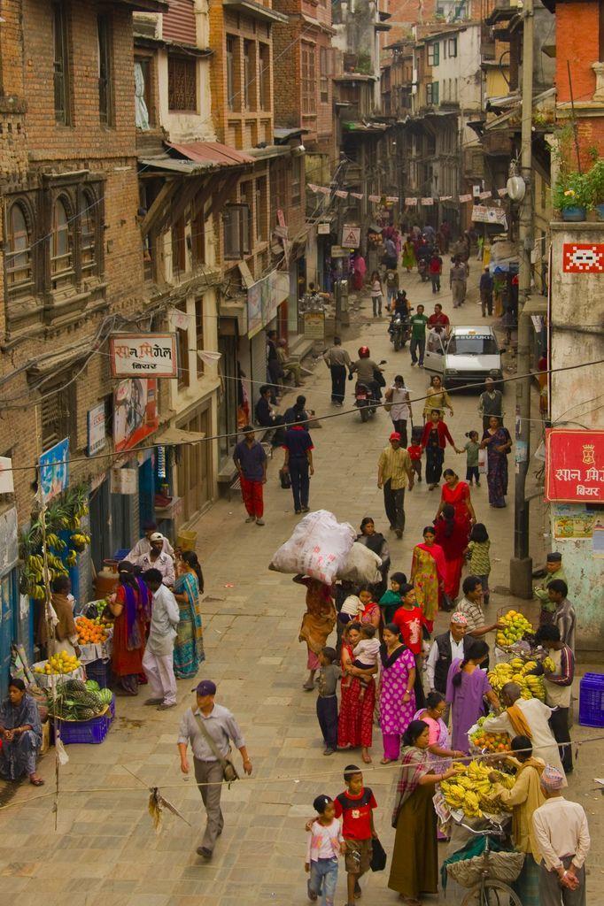 Скачать онлайн бесплатно лучшее фото города Катманду в хорошем качестве