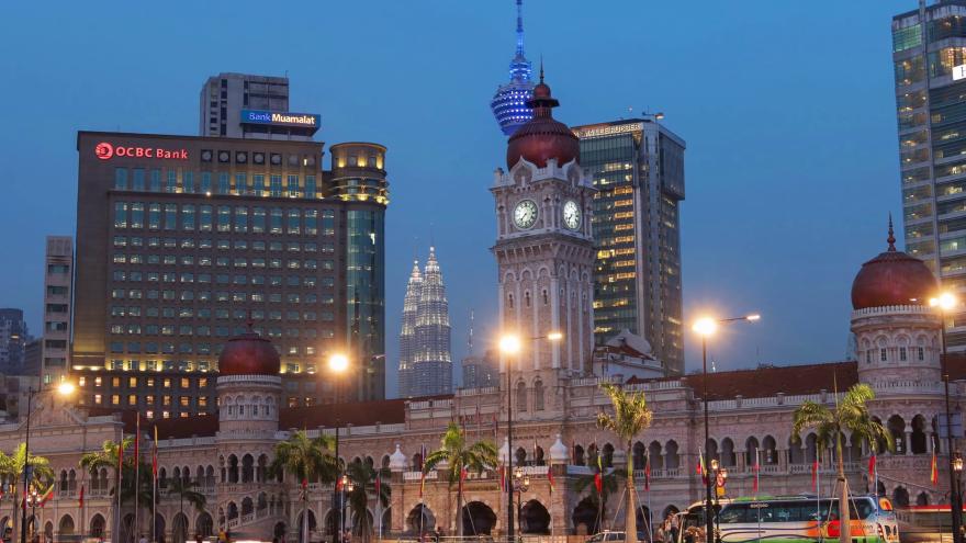 Скачать онлайн бесплатно лучшее фото города Куала Лумпур в хорошем качестве