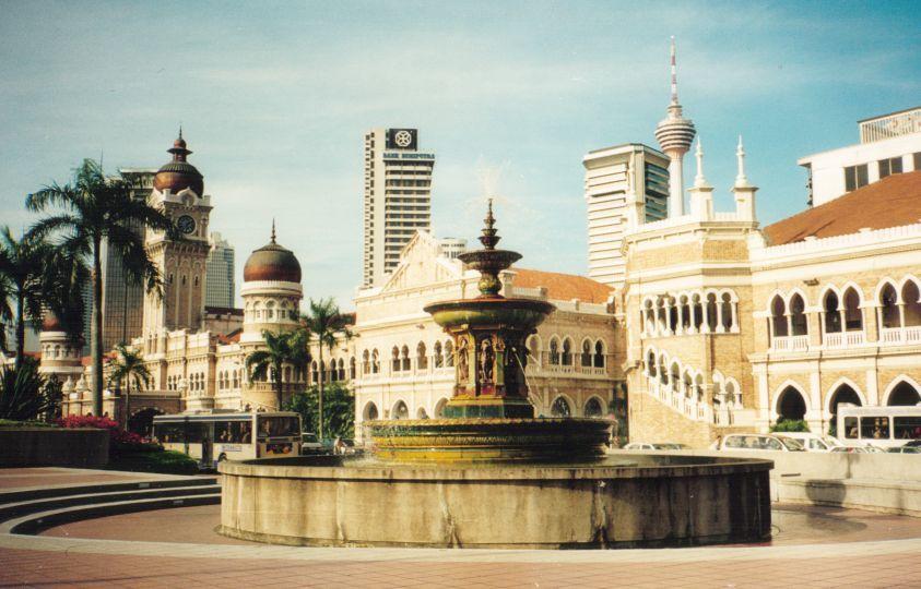 Смотреть красивое фото города Куала Лумпур 2019 Малайзия