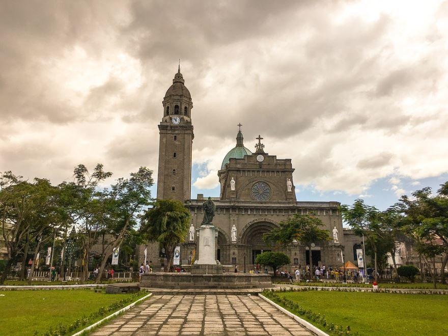 Скачать онлайн бесплатно лучшее фото достопримечательности города Манила в хорошем качестве