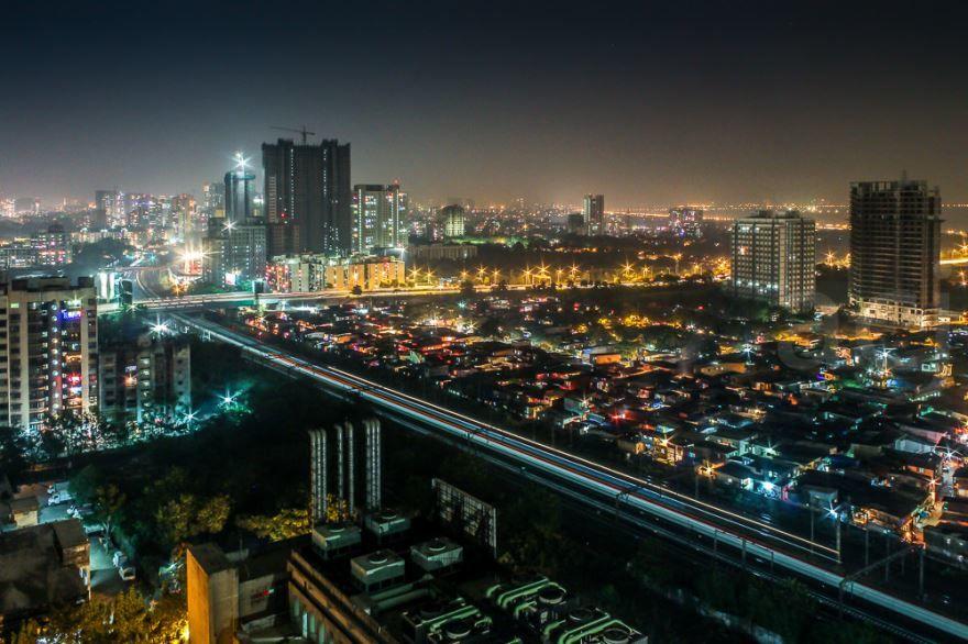 Смотреть красивое фото панорама города Мумбаи 2018
