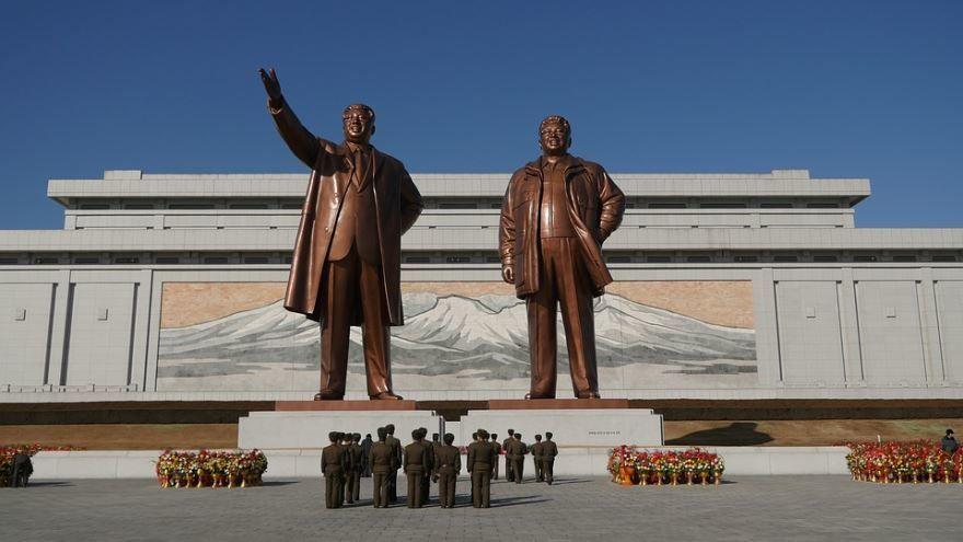 Скачать онлайн бесплатно лучшее фото достопримечательности города Пхеньян Северная Корея в хорошем качестве
