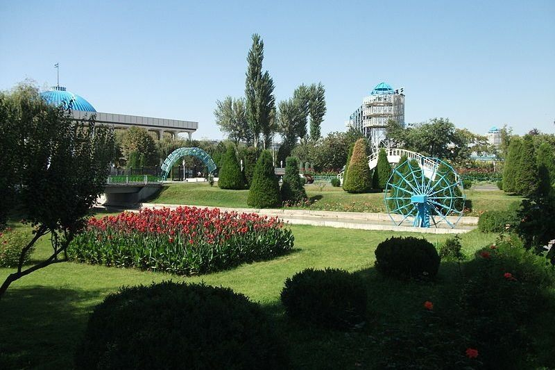 Национальный парк город Ташкент