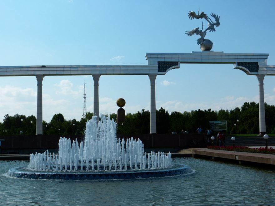 Площадь независимости город Ташкент Узбекистан
