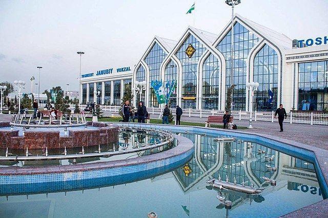 Южный вокзал город Ташкент