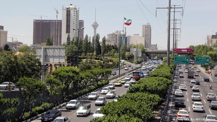 Скачать онлайн бесплатно лучшее фото улица города Тегеран в хорошем качестве