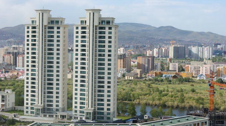 Смотреть красивое фото вид на город Улан Батор в хорошем качестве