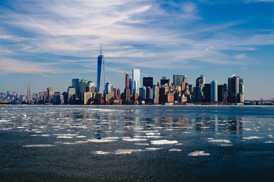 Скачать онлайн бесплатно лучшее фото города Нью Йорк 2018 США в хорошем качестве